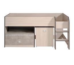 lit superpos et mezzanine pas cher promo et soldes. Black Bedroom Furniture Sets. Home Design Ideas