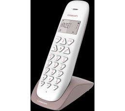 Téléphone sans fil LOGICOM VEGA 150 Taupe