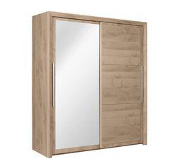 armoire 2 portes coulissantes sarlat pas cher. Black Bedroom Furniture Sets. Home Design Ideas
