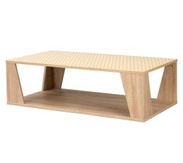 Table basse rectangulaire NORDIC Chêne sonoma