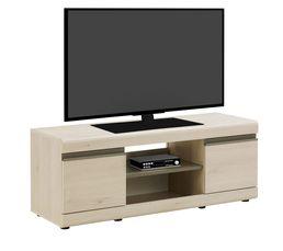 Meuble TV 2 portes BAROLO Pin