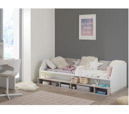 lit banquette 90x200 cm rangement tiago lits but. Black Bedroom Furniture Sets. Home Design Ideas