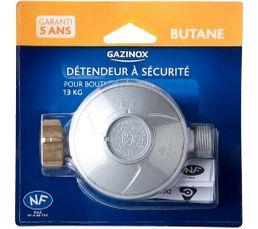 Détendeur Butane GAZINOX 28mbar pour bouteille 13 kg