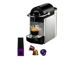 MAGIMIX Expresso à capsule Nespresso 11322 Nespresso Pixie Grise