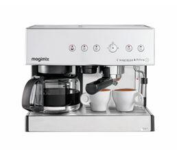 MAGIMIX Combiné expresso cafetière 11423