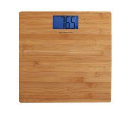 Pèse-personne électronique DOMOCLIP DOM306 Bambou