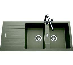 Evier 2 bacs HIP HOP EV8721 231 / Alpina