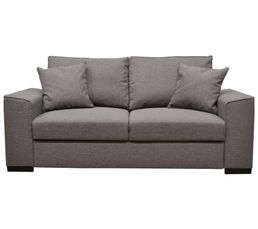 canap convertible 3 places june tissu sawana gris clair 21 canap s but. Black Bedroom Furniture Sets. Home Design Ideas