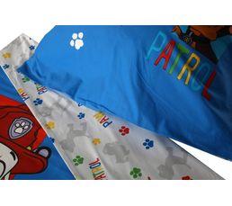 Housse de couette enfant 140X200 cm + 1 taie d'oreiller PAW PATROL