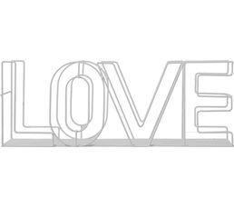 Etagère L. 47 cm LOVE Gris