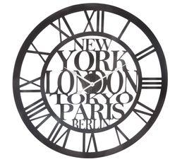 MET Horloge D. 60 cm Gris