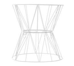 bout de canap filaire jim blanc petits meubles but. Black Bedroom Furniture Sets. Home Design Ideas