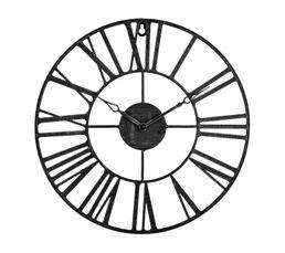 Horloge D.36 cm STATION Noir