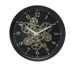 Horloge D.37 cm INDUSTRIA Noir