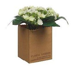 Pot fleur H. 21 cm FLEURS COMPO