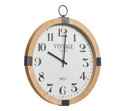 Horloge  D.38 cm ATLANTA Naturel