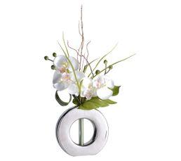 Vase Compo ORCHIDEE Argenté