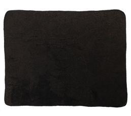 Plaid 125x150 cm PAILLETTE noir
