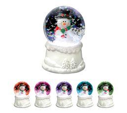 Boule neige LED  Multicolor