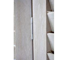 Paravent 170X40 BOIS PARAVENT Blanc