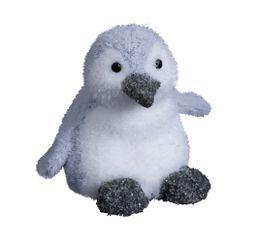 BLANC GLACIER Bébé Pingouin BLANC/GRIS