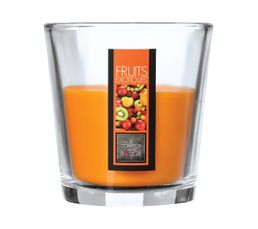NINA Bougie fruits exotiques 90 gr Orange