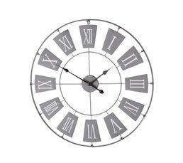 734142c3203230 Horloge D.76 cm MET Gris
