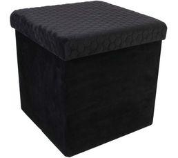 Pouf pliable SUZY Noir