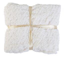 Plaid 130x160 cm HIMALAYA blanc