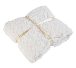 HIMALAYA Plaid 130x160 cm blanc