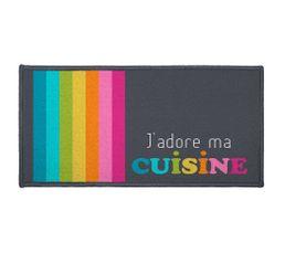 Tapis cuisine 57x115 JARDINS D'ETE Multicolor