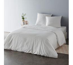 housse de couette 240x220cm 2 taies d 39 oreiller micro 3d linge de lit but. Black Bedroom Furniture Sets. Home Design Ideas