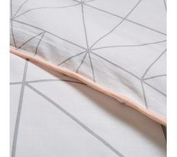 Housse de couette 240X220cm + 2 taies d'oreiller MILANO
