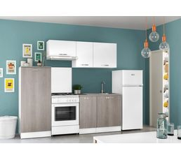 demi colonne 1 porte master 517903 blanc meubles hauts et bas but. Black Bedroom Furniture Sets. Home Design Ideas
