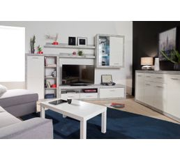 Table basse rectangle laquée NEXT Blanc
