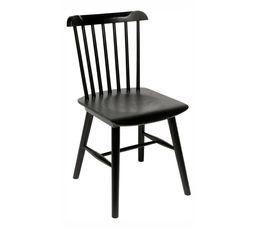 La collection COLETTE au look vintage donnera du style à votre intérieur ! Mixez les couleurs des chaises autour de la table COLETTE. Piètement : Hêtre. Garantie : 2 ans , Pièces Structure : Hêtre. Assise : multiplis épaisseur 10 mm. Teinte : noir. Finiti