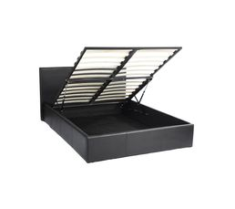Lit coffre 160x200 cm ROMA2 Noir