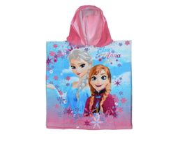 Cape de bain TU FROZEN Rose