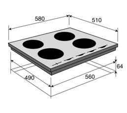 Table induction BRANDT BPI6427B