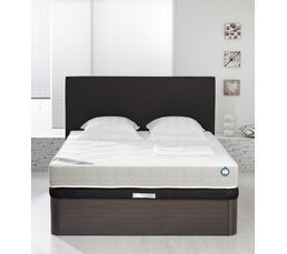 sommier coffre 160 x 200 cm bultex galaxie sommiers but. Black Bedroom Furniture Sets. Home Design Ideas
