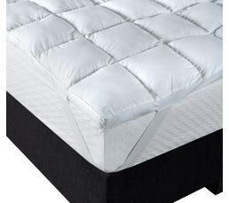 surmatelas 140x190 cm dreamea topfoam pas cher avis et prix en promo. Black Bedroom Furniture Sets. Home Design Ideas
