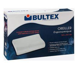 Oreiller 52x33x13/10 cm BULTEX ERGONOMIQUE