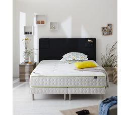 sommier tapissier 140 x 190 cm merinos morpho sommiers but. Black Bedroom Furniture Sets. Home Design Ideas