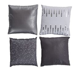 Coussin 40x40 SILVER Gris