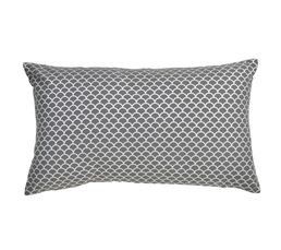 LISOU Coussin 30 x 50 cm Anthracite