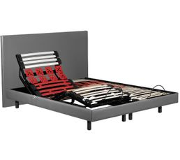 lit lectrique sommier et matelas de relaxation pas cher. Black Bedroom Furniture Sets. Home Design Ideas