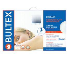 Oreiller ergonomique 52x33 cm BULTEX HYBRID MEMOGEL