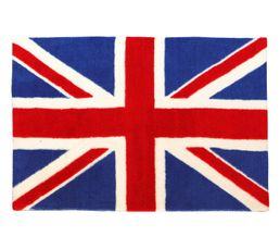 Tapis ado union jack bleu blanc rouge tapis salon chambre but - Chambre bleu blanc rouge ...