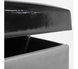 Pouf L. 31 - l. 31 - H. 35 cm URBAN imprimé