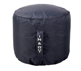 pouf rond d50 x h40 cm tilt gris poufs poires but. Black Bedroom Furniture Sets. Home Design Ideas